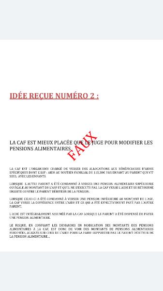 Projet De Loi La Caf Pour Trancher Les Demandes De Modification
